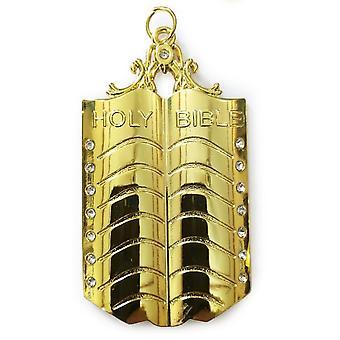 Bijou de collier d'or maçonnique - aumônier
