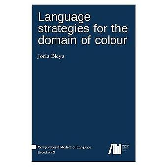 Language strategies for the domain of colour by Bleys & Joris