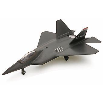 Modell f-22 Raptor Düsenjäger eingerastet