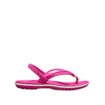 Crocs Girls' Crocband Flat Sandals