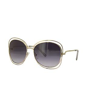 Chloe Carlina CE119S 734 gafas de sol de degradado gris dorado/claro