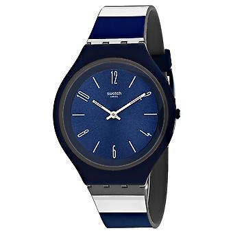Swatch Men's Skincarat Blue Dial Uhr - SVUN103