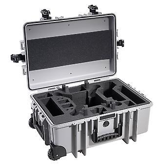 B&W Copter Case Type 6700 per DJI Phantom Multicopter, Grigio per DJI Phantom 2