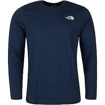 ノースフェイスイージーT92TX1N4LユニバーサルオールイヤーメンTシャツ