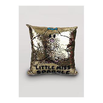 Mr men & little miss little miss sparkle scatter cushion
