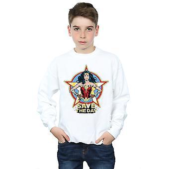 DC Comics Boys Wonder Woman 84 Star Design Sweatshirt