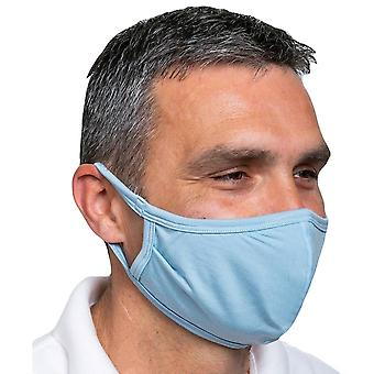 Obviously Ear Loop Face Mask - Light Blue