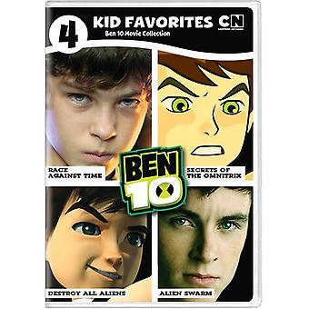4 Kid Favorites: Ben 10 Movies [DVD] USA import