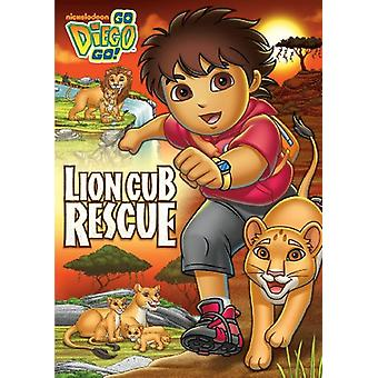 Lion Cub Rescue [DVD] USA import
