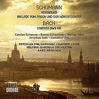 J.S. Bach - Adventlied / Ballade Vom Pagen Und Konigstochter [CD] USA import