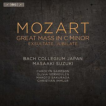 Mozart / Bach Collegium Japan / Suzuki - Mozart: Great Mass in C Minor [SACD] USA import