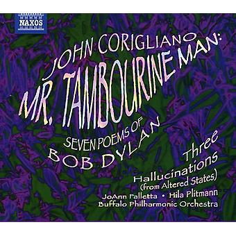 J. Corigliano - John Corigliano: Mr. Tambourine Man; Seven Poems of Bob Dylan [CD] USA import