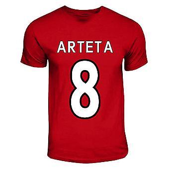 Mikel Arteta Arsenal Hero T-shirt (rouge)