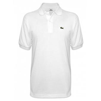 Lacoste Классический L1212 Белая рубашка поло
