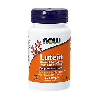 Lutein Free 10 mg 60 softgels of 10mg