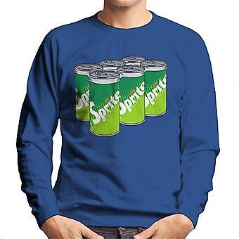 Sprite retro 70 logo tölkit miesten College pusero