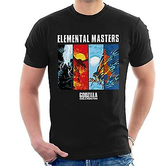 Godzilla Elemental Masters Men's T-Shirt