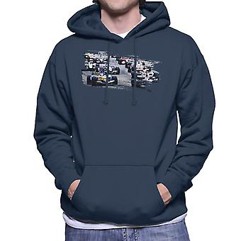 Motorsport Images San Marino GP 2005 Starting Shot Men-apos;s Sweatshirt à capuchon