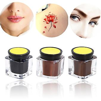 Professional Practising Eyebrow Micro Tattoo Ink - Set Lips, Makeup Tattoo