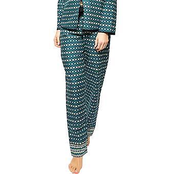 Cyberjammies Elena 4569 Frauen's Petrol blau geometrische Druck Pyjama Hose