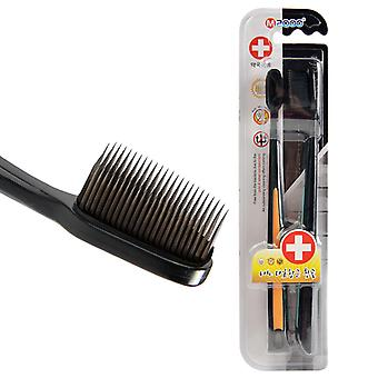 2pcs Nano Bamboo , Charcoal Tongue Cleaner - Double Ultra Soft Antibacterial