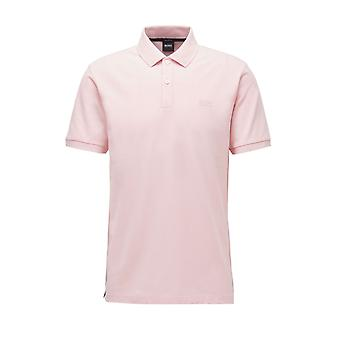 BOSS Casualwear Boss Pallas Polo Shirt Light Pastel Pink