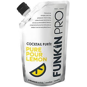Funkin Pro Cocktail Puree Pure Pour Lemon