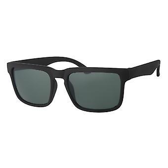 Sunglasses Men's Kat. 3 black with green lens (A 20211)