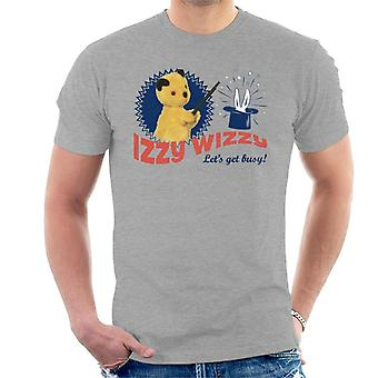 Sooty Retro Izzy Wizzy Let's Get Busy Men's T-Shirt