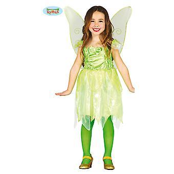 Waldfee Kostüm für Mädchen Karneval Fasching Walpurgisnacht Elfe