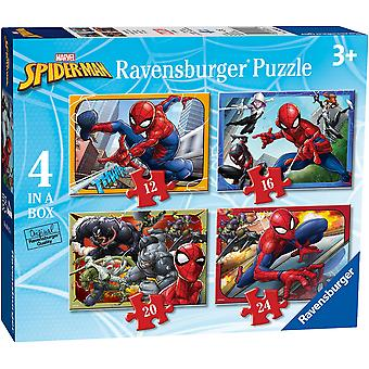Ravensburger Spider-Man 4 in a box Jigsaw Puzzles