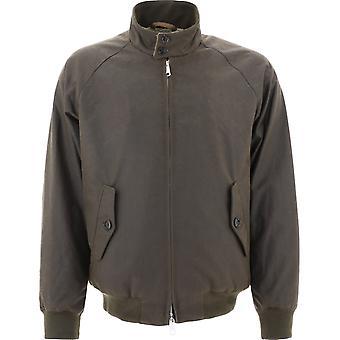 Baracuta Brcps0768ut19986054 Men's Brown Cotton Outerwear Jacket