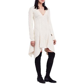 Free People   Cables & Castles Sweater Dress