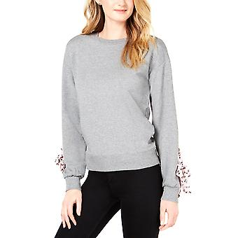 Maison Jules | Contrast Tie-Sleeve Sweatershirt