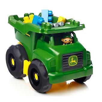 Mega Bloks John Deere Dump Truck Kids Toy