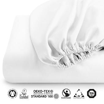 Snipe Formsy lit Undersheets Eko Fairtrade 600 tc Egyptian Cotton Satin