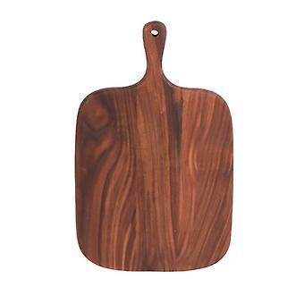 Grande planche de coupe en bois avec poignée réversible portion plateau fromage board