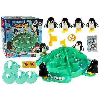 Pinguin Eisberg Fußballspiel - 4 Personen