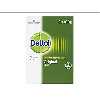 Reckitts Dettol Antibacterial Soap Bar x 2
