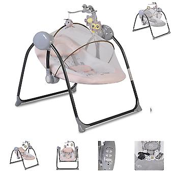 Moni Electric Baby Rocker ZaZu, Spela Bow Music Funktion Swing Funktion Timer