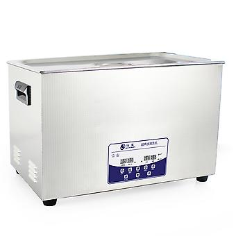 30l Professional Ultrasonic Cleaner Machine With Digital Touchpad Timer Heated Stainless Steel Tank Capacity Adjustable