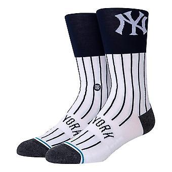 Stance MLB NY Värisukat - Valkoinen