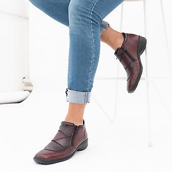 ريكر 58387-35 السيدات أحذية الكاحل الجلود