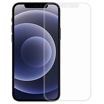 Cam iPhone 12/12 Pro Mat Anti-Reflektif Anti-Spot mavi Clear