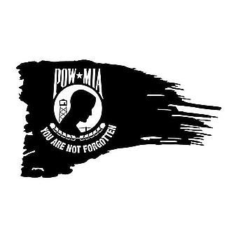 Pow Mia Tattered Flag