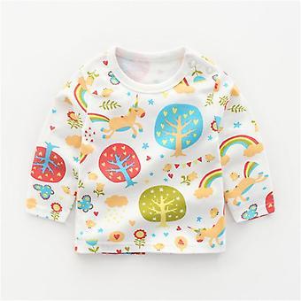 Autumn Baby Collegepaidat, Pitkähihainen Toppi, Lasten casual-paidat Vastasyntynyt