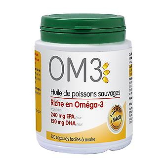 OM3 Fish oil rich in omega 3 120 capsules