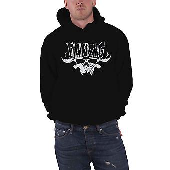 Danzig Hoodie Classic Skull Band Logo Metal new Official Mens Black Pullover