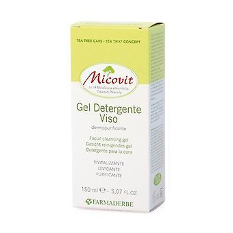 Micovit ansiktsrengöring gel 150 ml gel