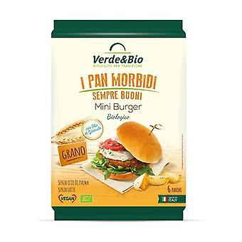 Organic wheat miniburger 240 g